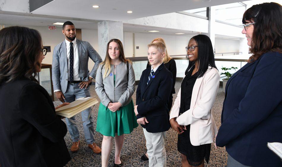 Deep Creek Middle School Solve for Tomorrow Washington DC