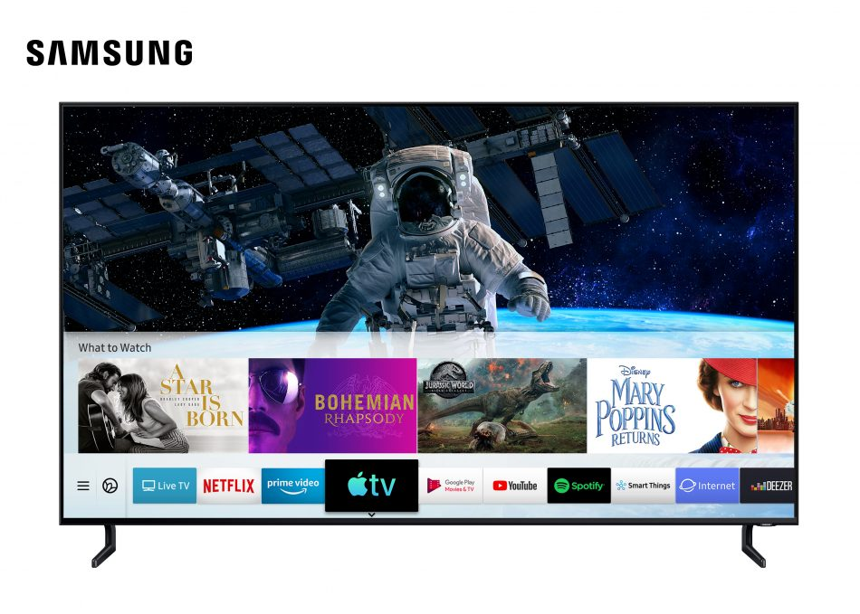 [Image] Samsung Apple TV Airplay 2 Launch