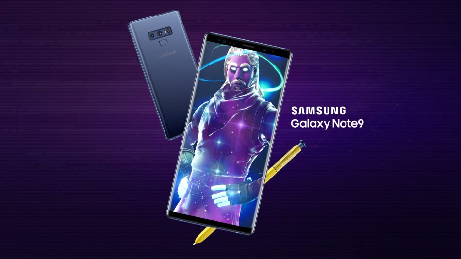 Samsung x Fortnite Galaxy Skin