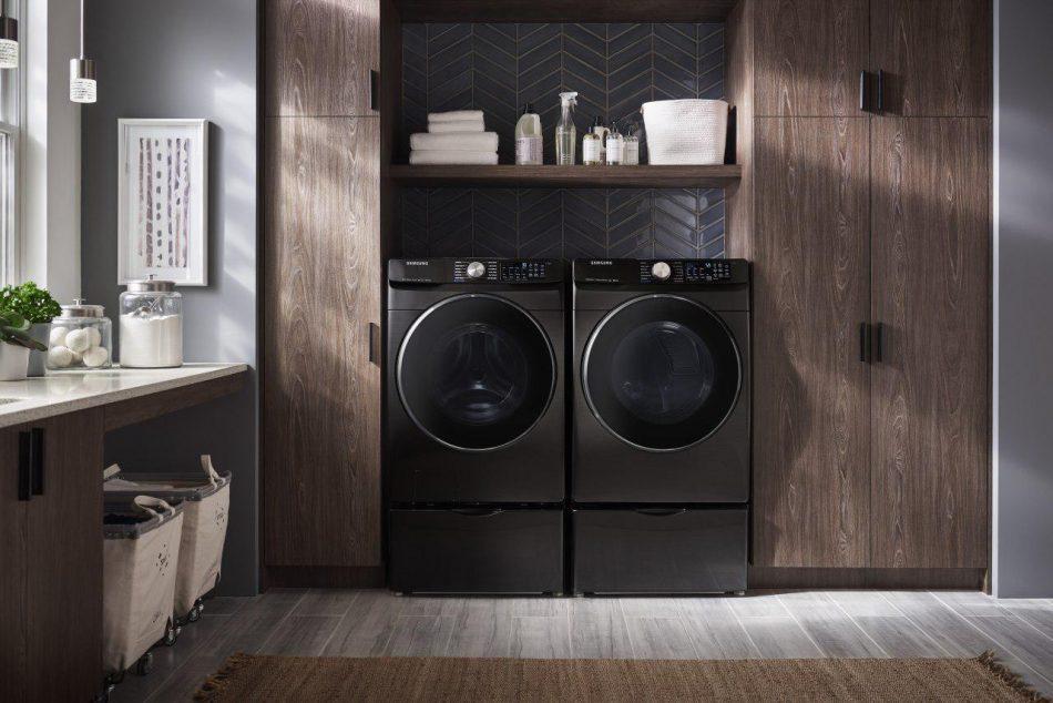 2019 Laundry appliances Black