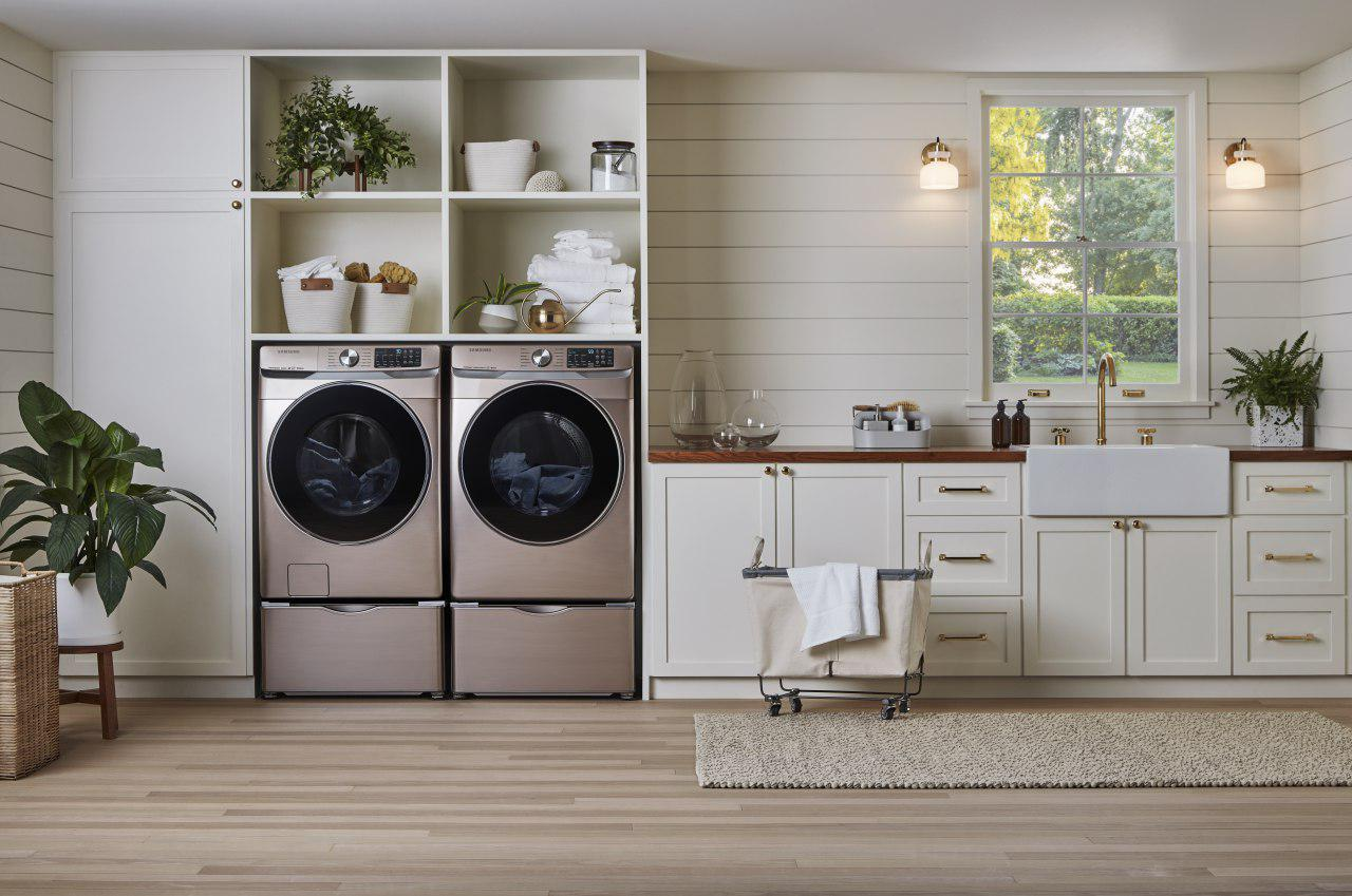Samsung Reimagines The Laundry Room With Appliances That Embrace Personal Style Samsung Us Newsroom