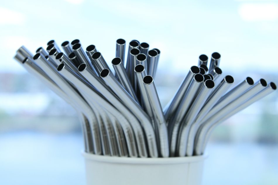Metal Straws for Earth Day