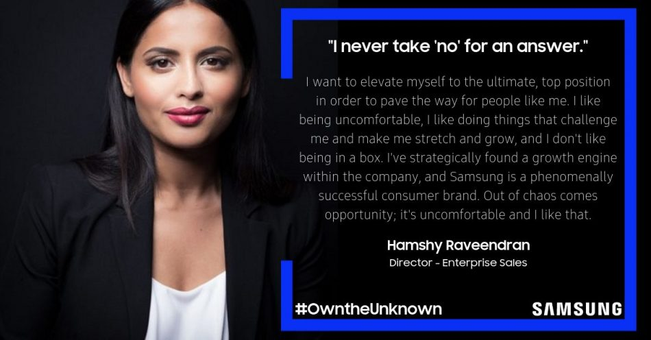 Samsung Employees #OwntheUnknown
