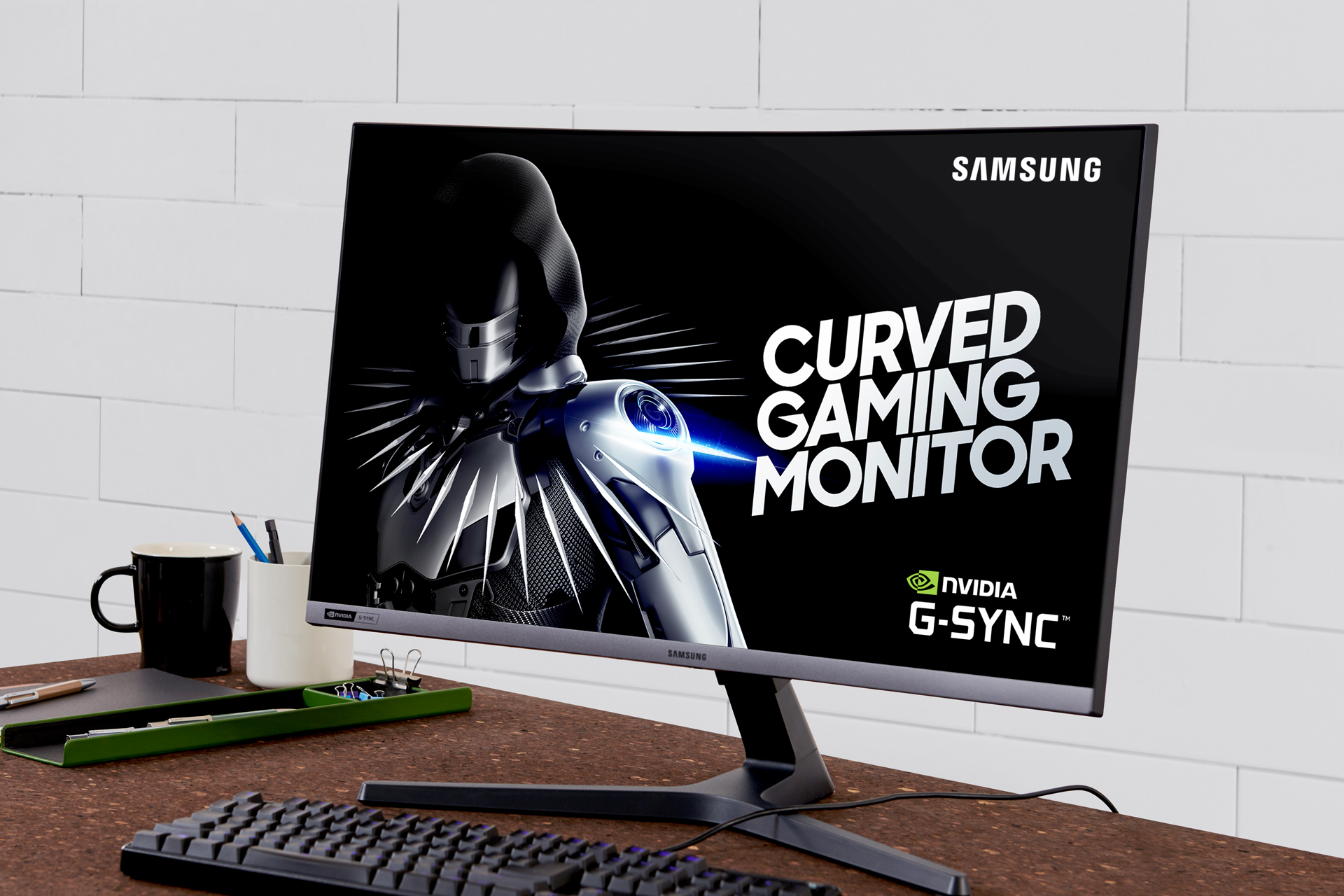 Samsung Introduces 240Hz G-SYNC Compatible Curved Gaming
