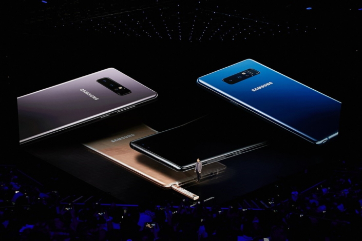 """""""Today isn't just about unveiling an amazing new product. It's about celebrating what's behind that product: all of you,"""" Justin Denison, Senior Vice President of Product Strategy at Samsung Electronics America, said to the audience as he discussed how Note users were the inspiration for the Galaxy Note8."""