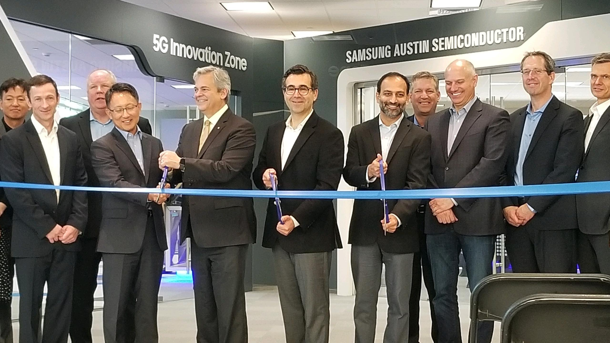 5G Innovation Zone Samsung Austin Semiconductor