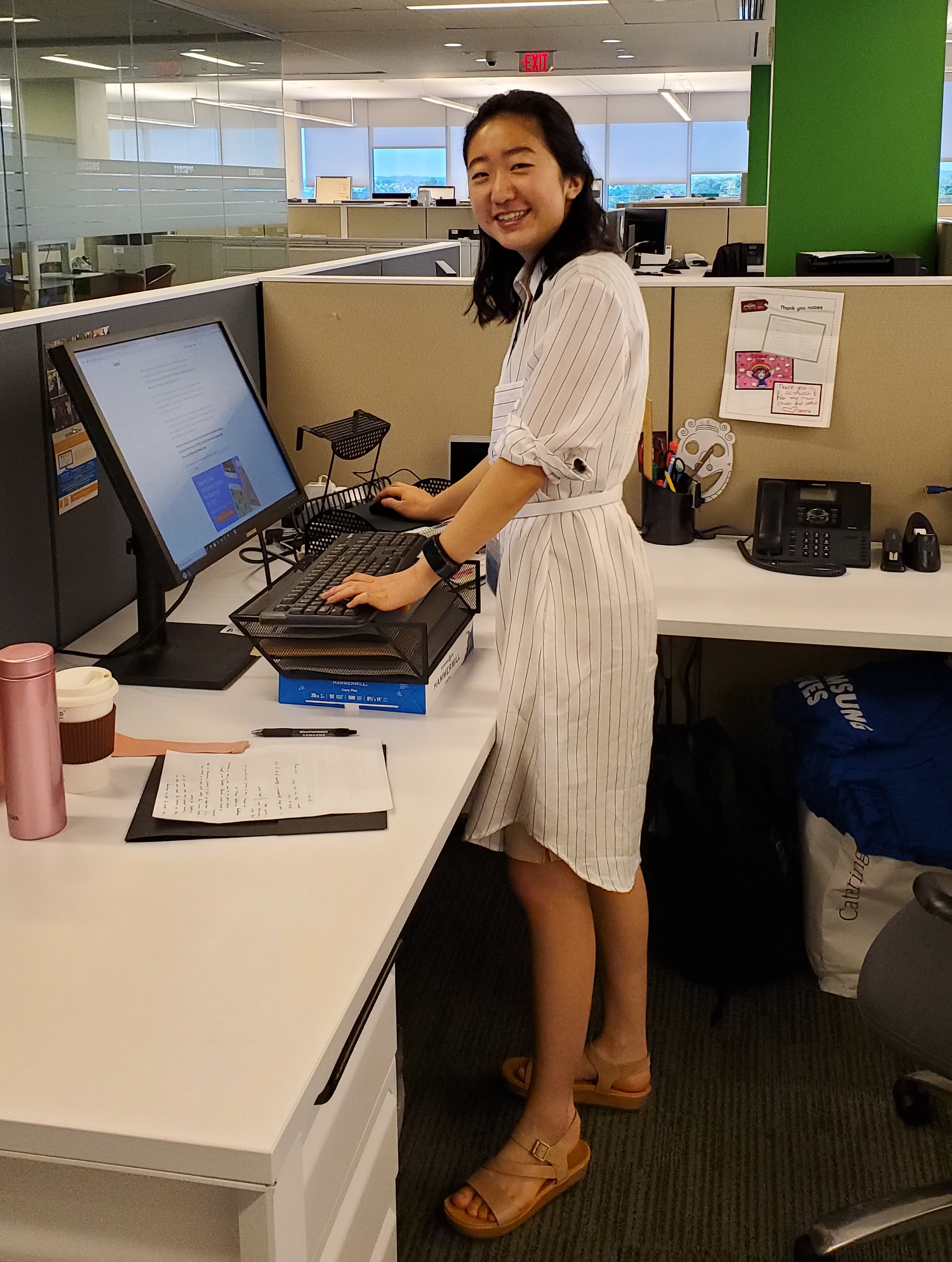 Jane Song is an intern for the Corporate Citizenship Department