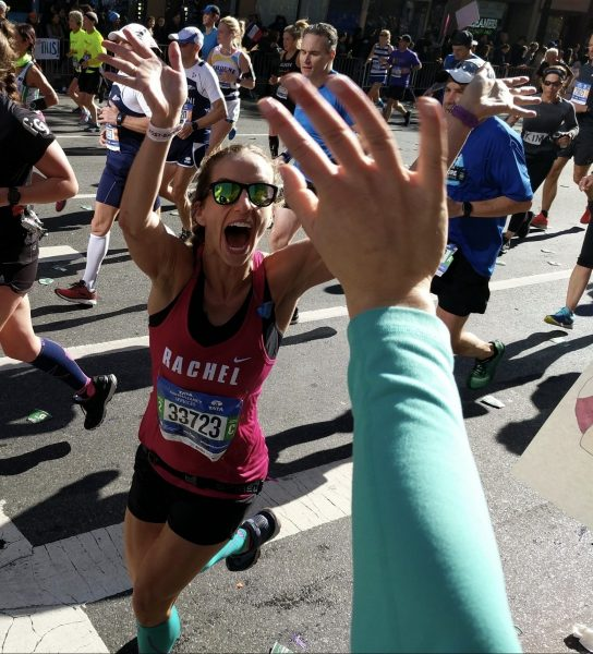 Rachel Harris NYC Marathon 2018