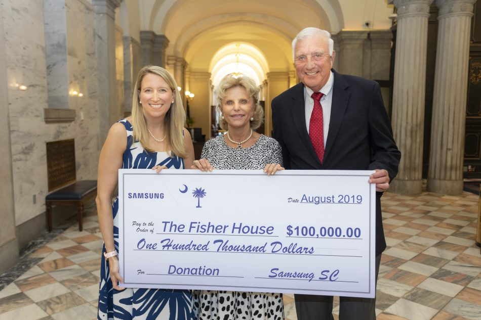 Samsung Donates $100,000 to Columbia Fisher House Construction