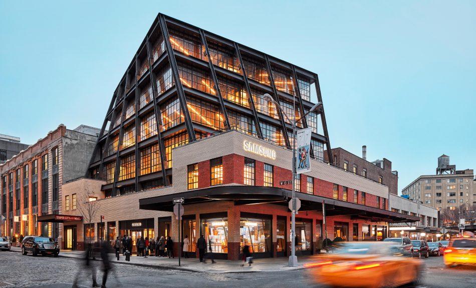 Samsung 837 building