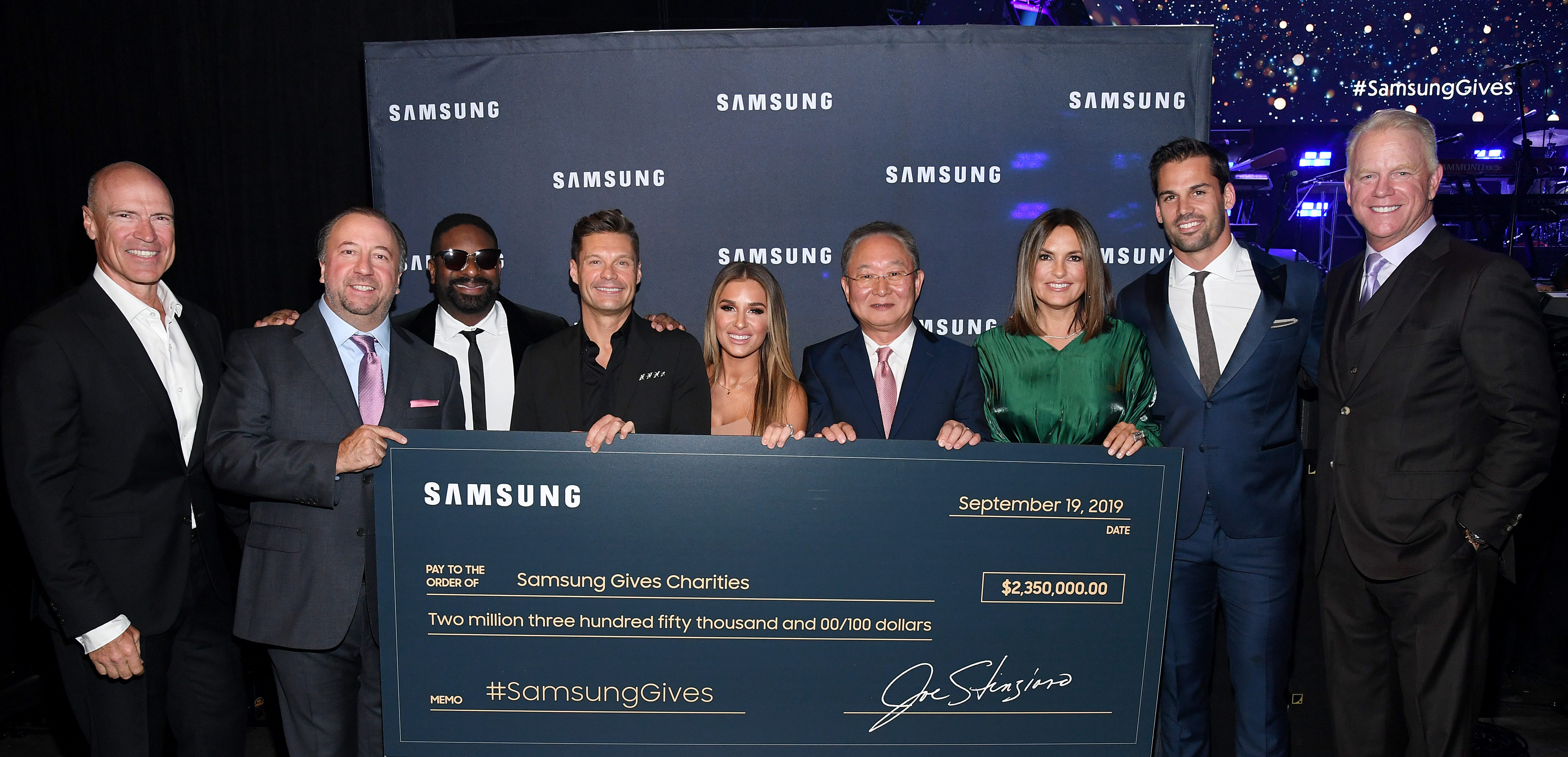 NEW YORK, NEW YORK - SEPTEMBER 19: <> attends Samsung Gives Annual Charity Gala at The Manhattan Center on September 19, 2019 in New York City. (Photo by Kevin Mazur/Getty Images for Samsung)