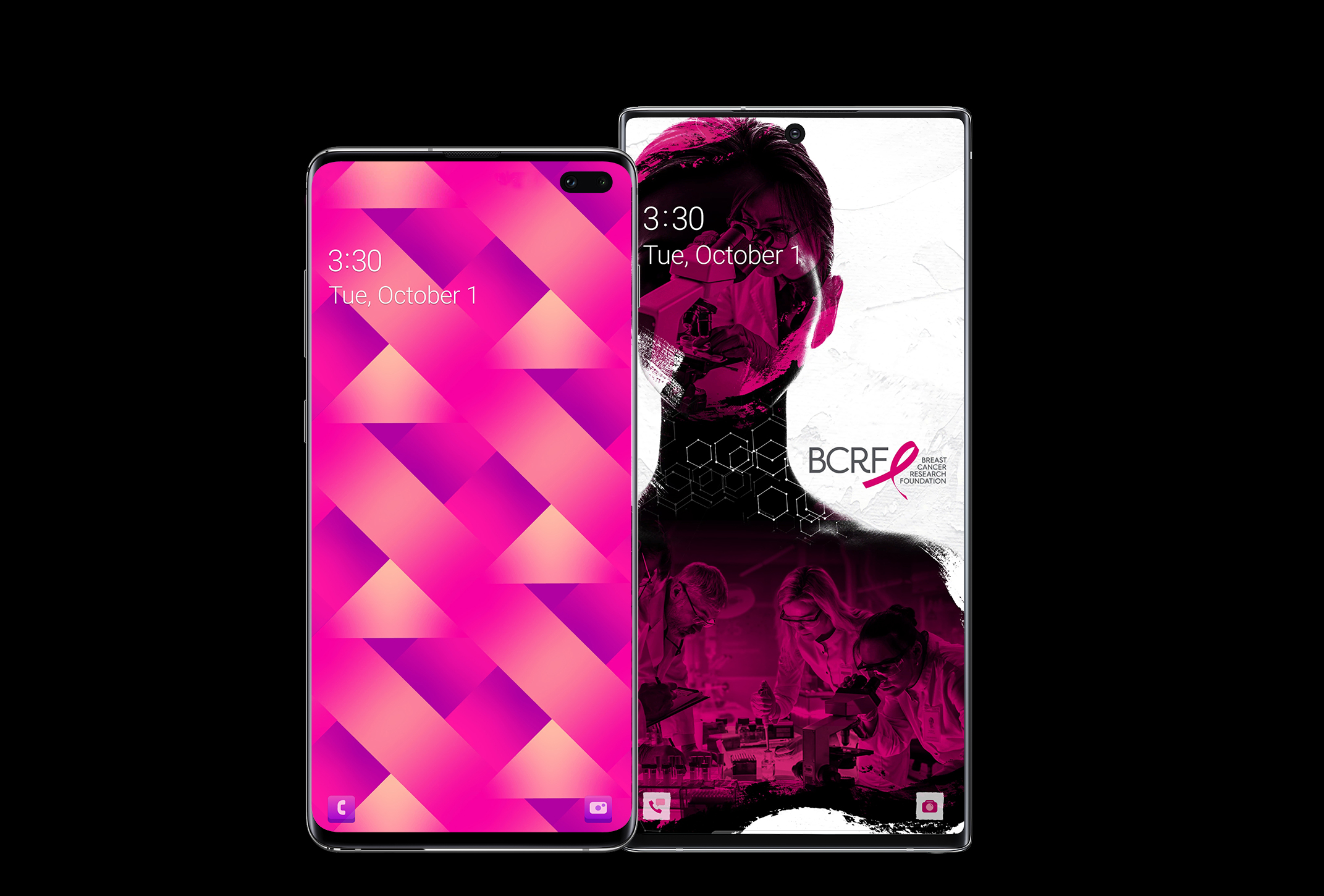 Breast Cancer Research Foundation (BCRF) smartphone theme 2
