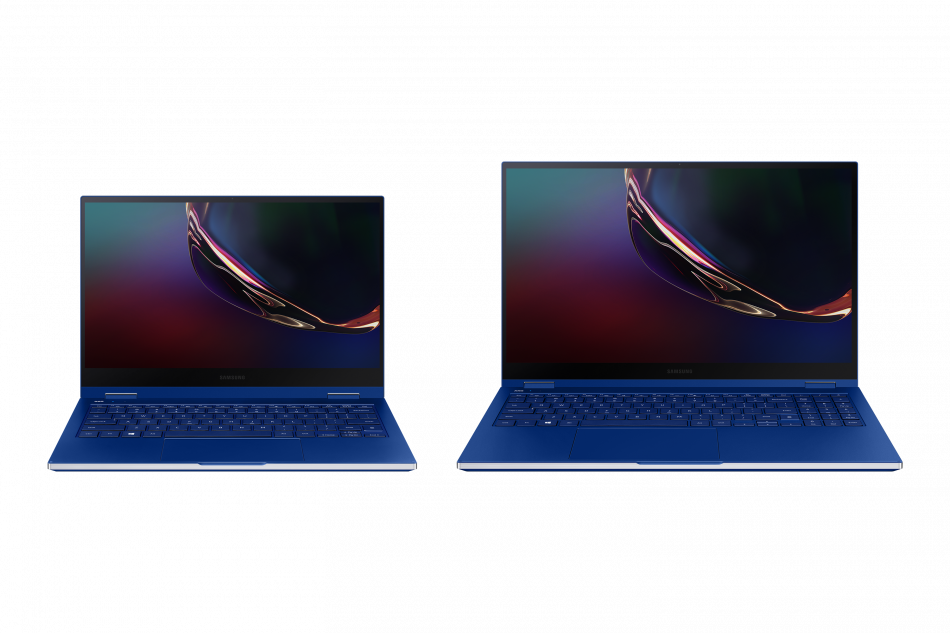 Galaxy Book Flex_NT930QCGI_035_Pair_Front-Open_Blue