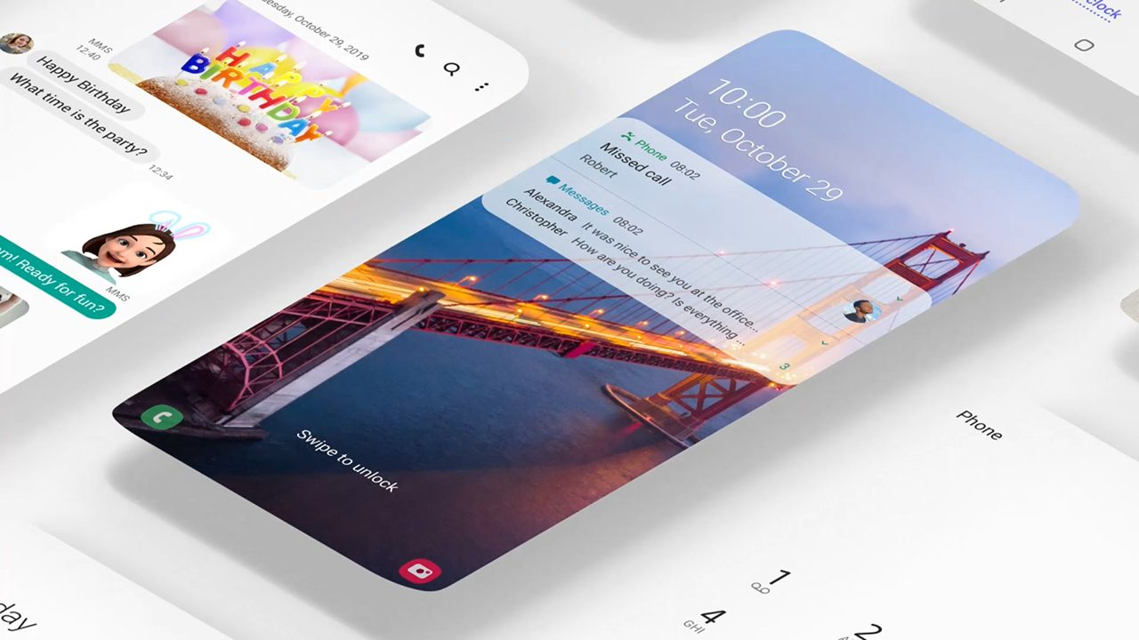 Samsung One UI_1