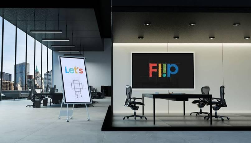 Flip 2 display