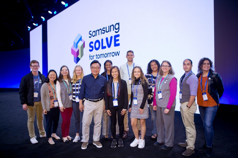 Solve for Tomorrow at Samsung Developer Conference 2019