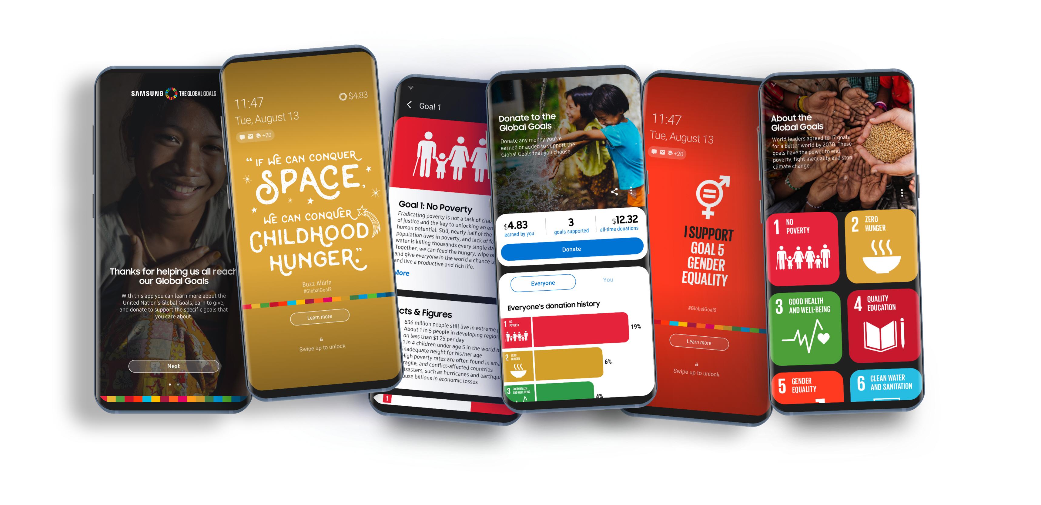 Samsung Global Goals App