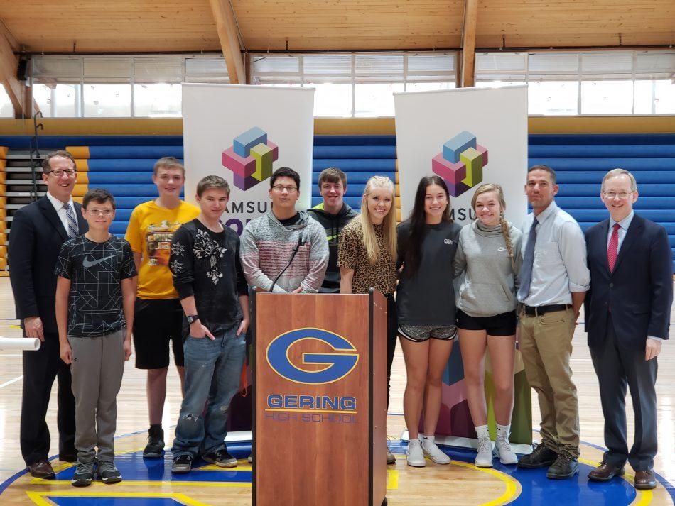 Gering High School Students