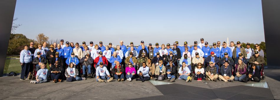 Honor Flight 2019 Group Image