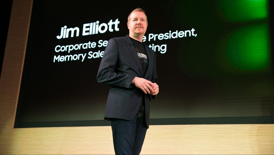 Jim Elliott at Samsung Tech Day 2019