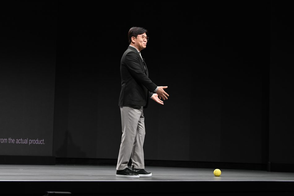 Ballie introduction CES 2020 Keynote