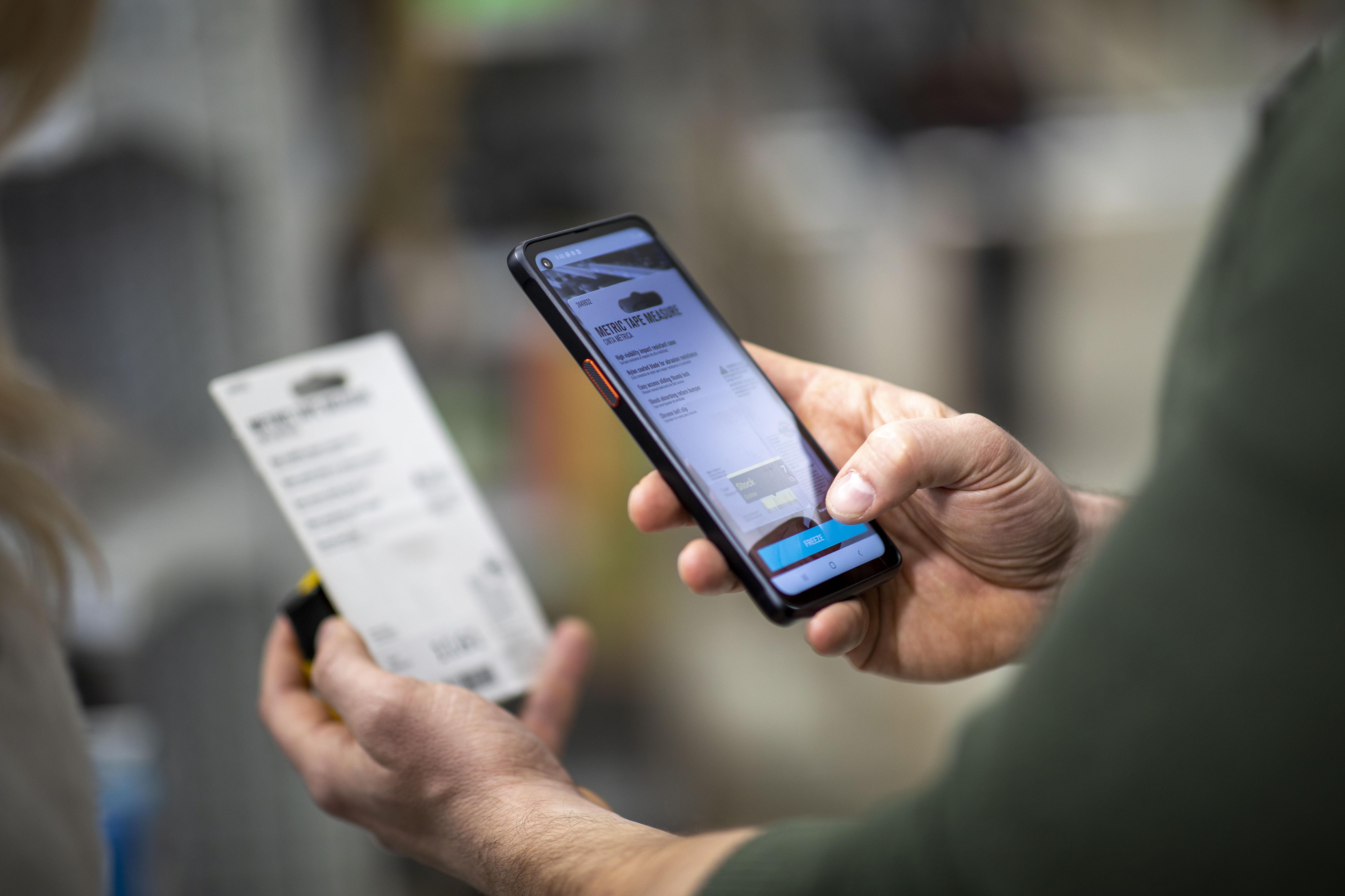 Galaxy XCover Pro - Retail - SCANDIT