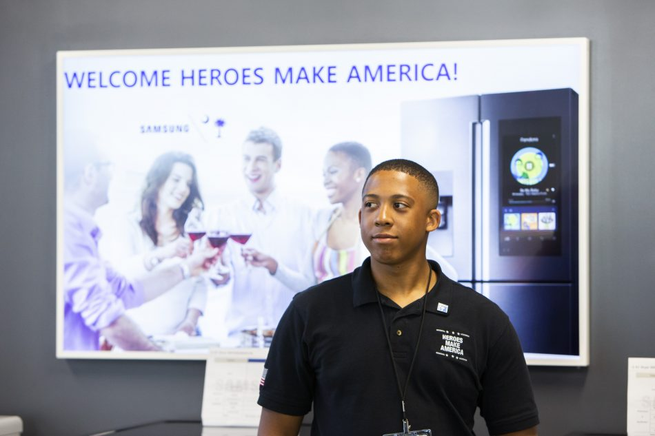Heroes MAKE America participant