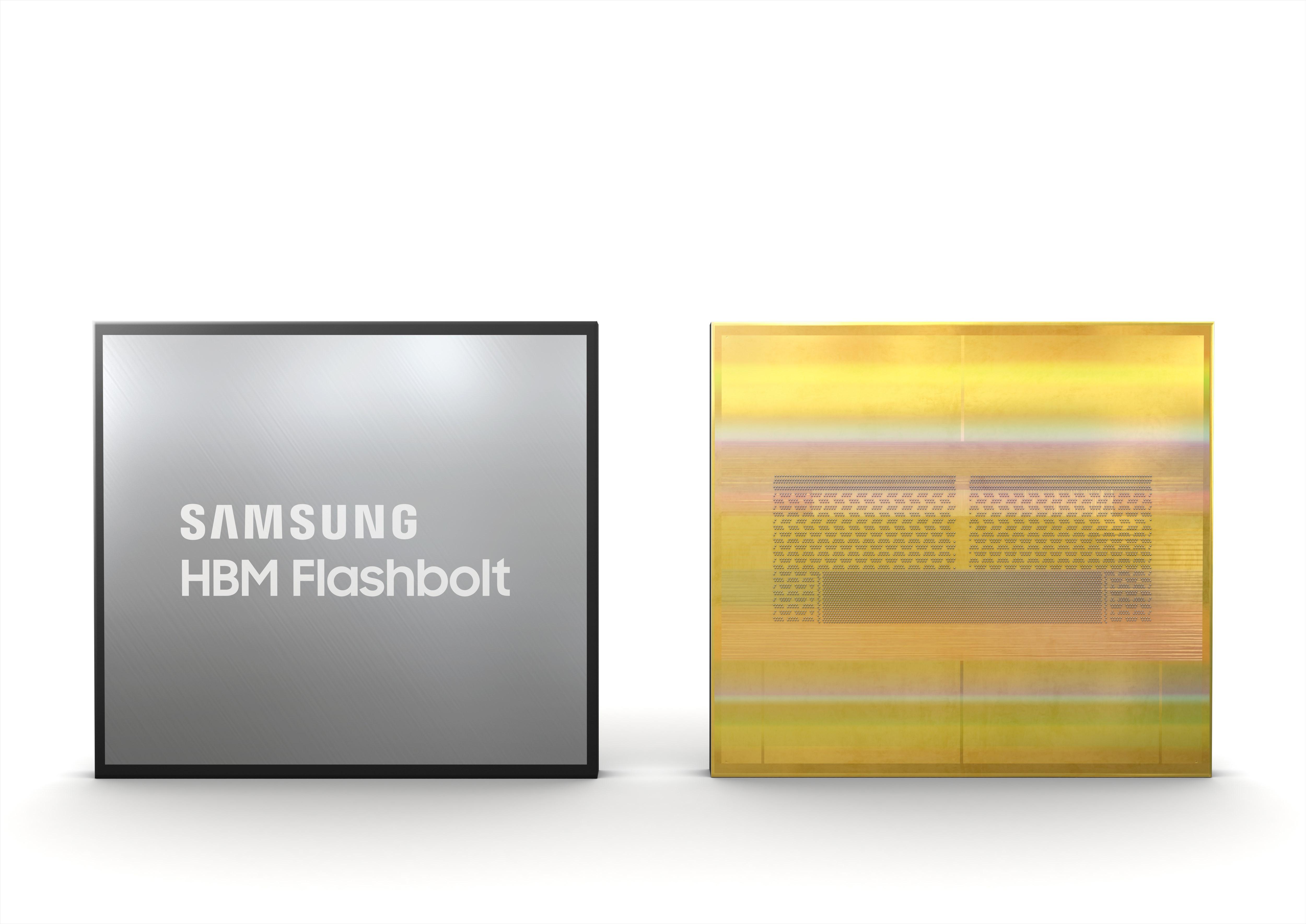 Samsung Flashbolt High Bandwidth Memory 2E (HBM2E)