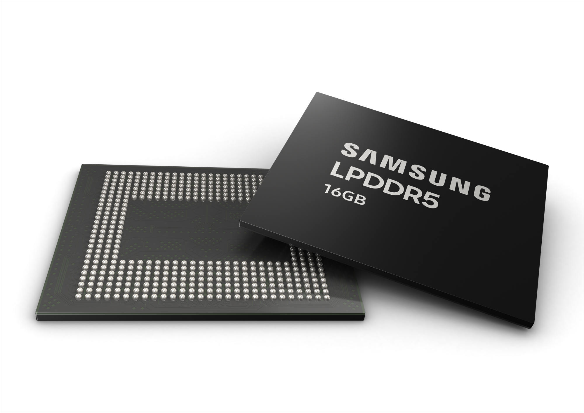 industry's first 16-gigabyte (GB) LPDDR5 mobile DRAM package for next-generation premium smartphones