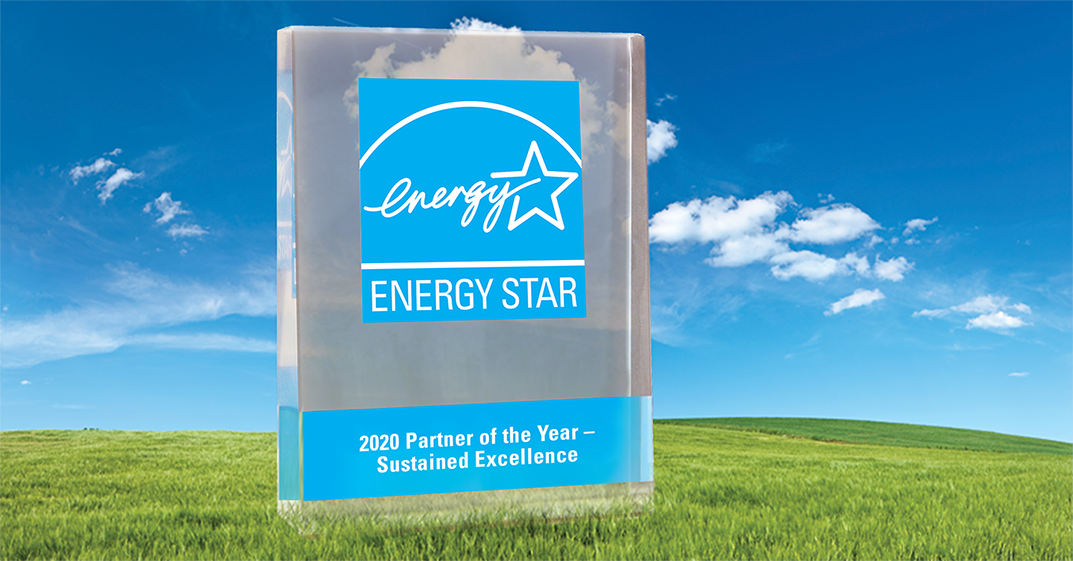 Energy Star - Sustained Excellence - Sustainability - 2020