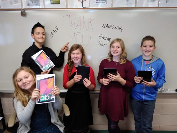 James Maki's Seventh-grade Climate Change Superstars
