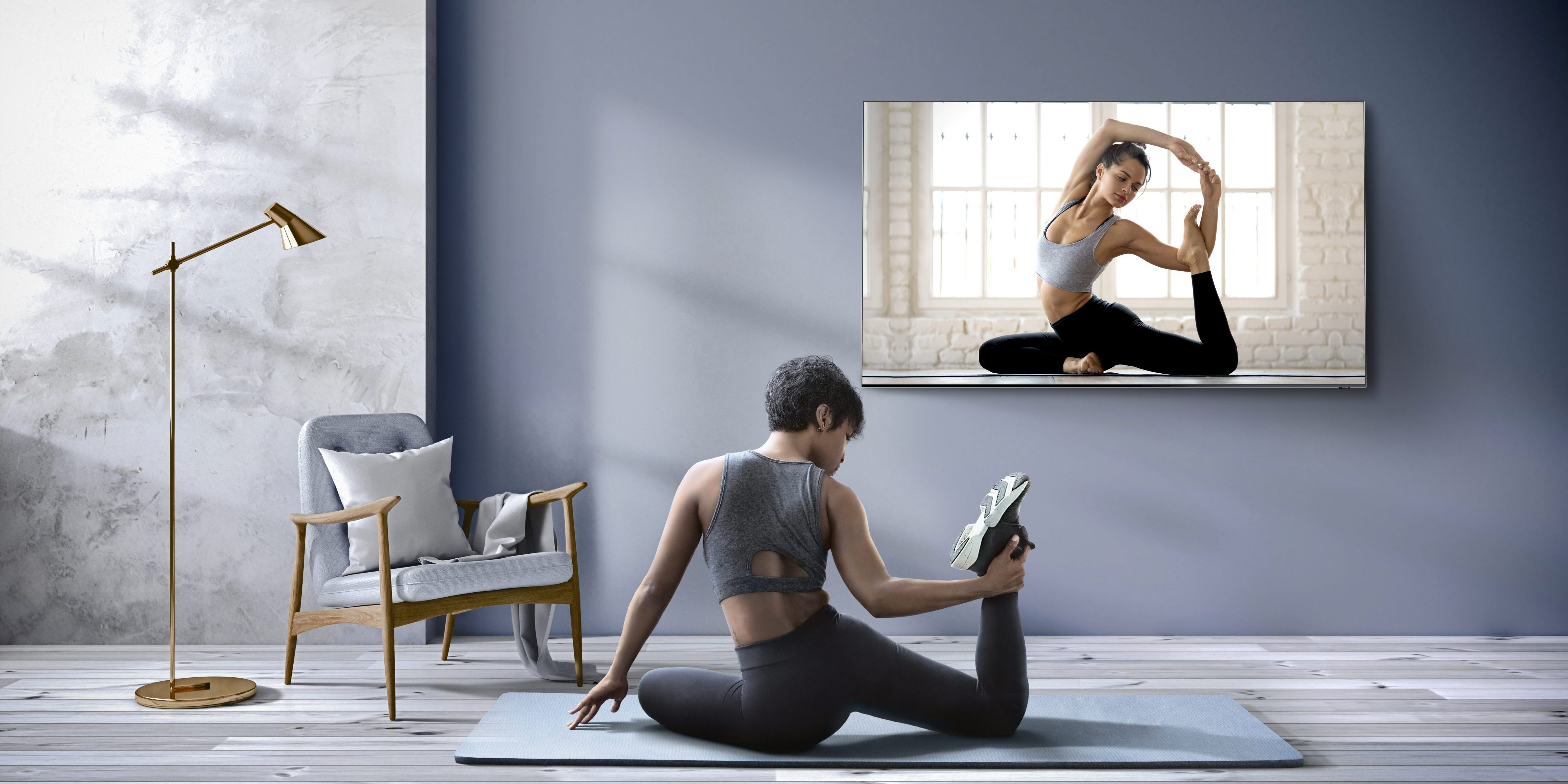 Samsung Partners with Leading Personal Fitness Brands to Launch Wellness Apps on Its Smart TV Platform