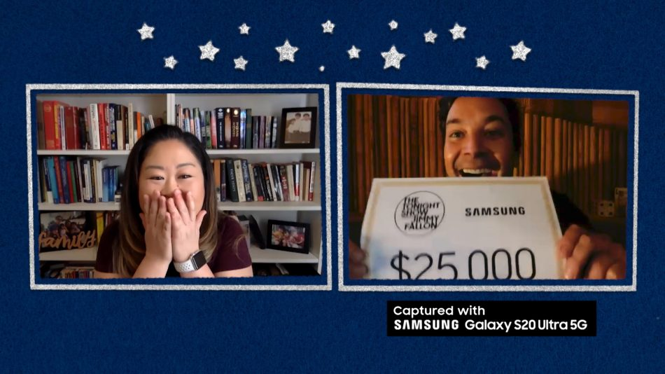 Samsung Partners with The Tonight Show Starring Jimmy Fallon to Celebrate Heroic Moms