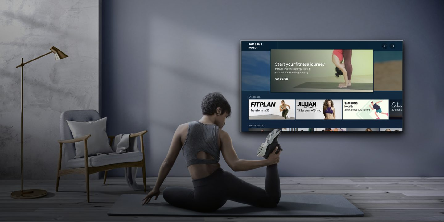 Samsung Health Now Available as a Comprehensive In-Home Fitness and Wellness Platform on 2020 Samsung Smart TVs