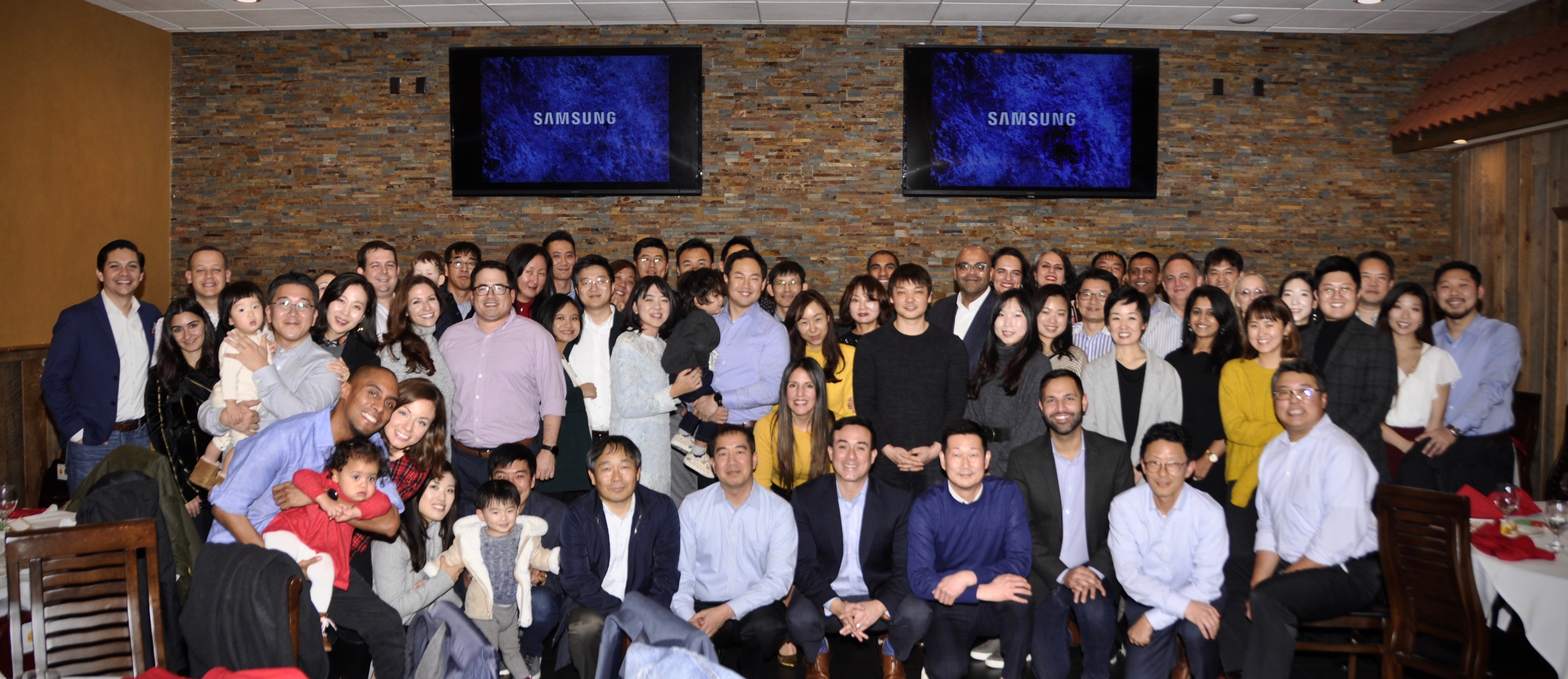 Team picture from our holiday party in December, it includes all the teams in NJ (PI, PROC) under Renzo along with family members.