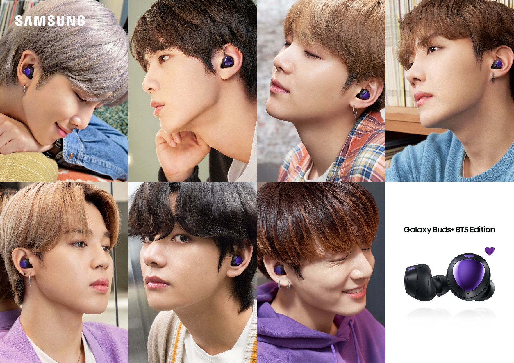 Introducing Samsung Galaxy S20+ 5G and Galaxy Buds+ BTS Editions