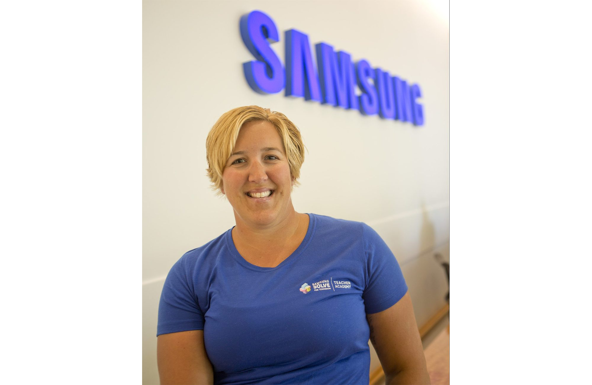 Last summer, Miss B, as she's lovingly referred to by her students, attended Samsung Solve for Tomorrow Teacher Academy, a weeklong professional development practicum, as part of her effort to build and sustain a culture of STEM teaching and learning.