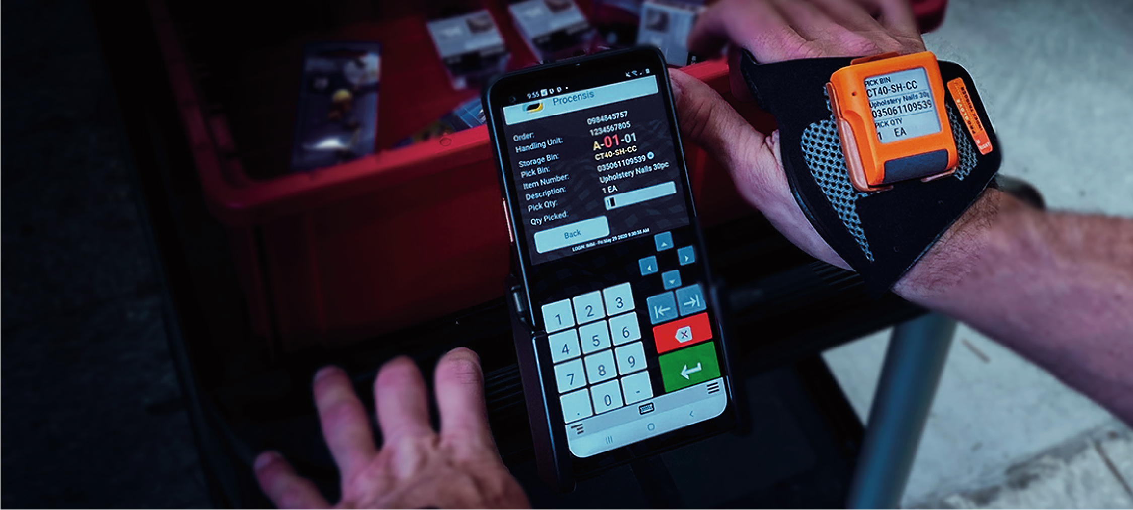 Samsung announces the Wearable Picking Bundle in collaboration with ProGlove, Procensis and Ivanti Wavelink