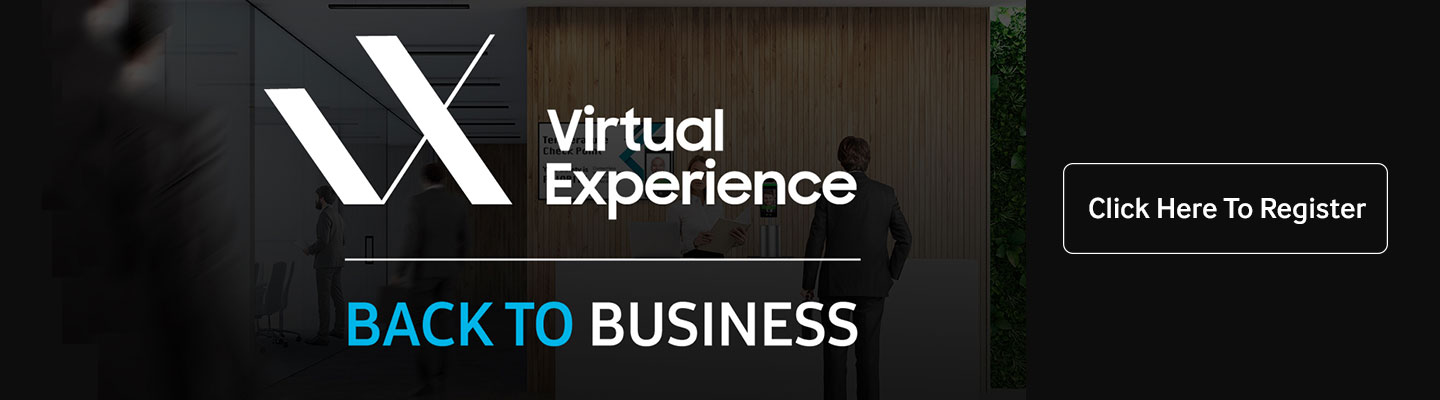 "attend Samsung's free ""Samsung V/X: Back to Business"" virtual conference on July 15 and 16"