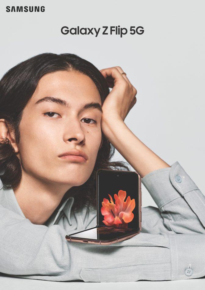 Galaxy Z Flip 5G Lifestyle KV