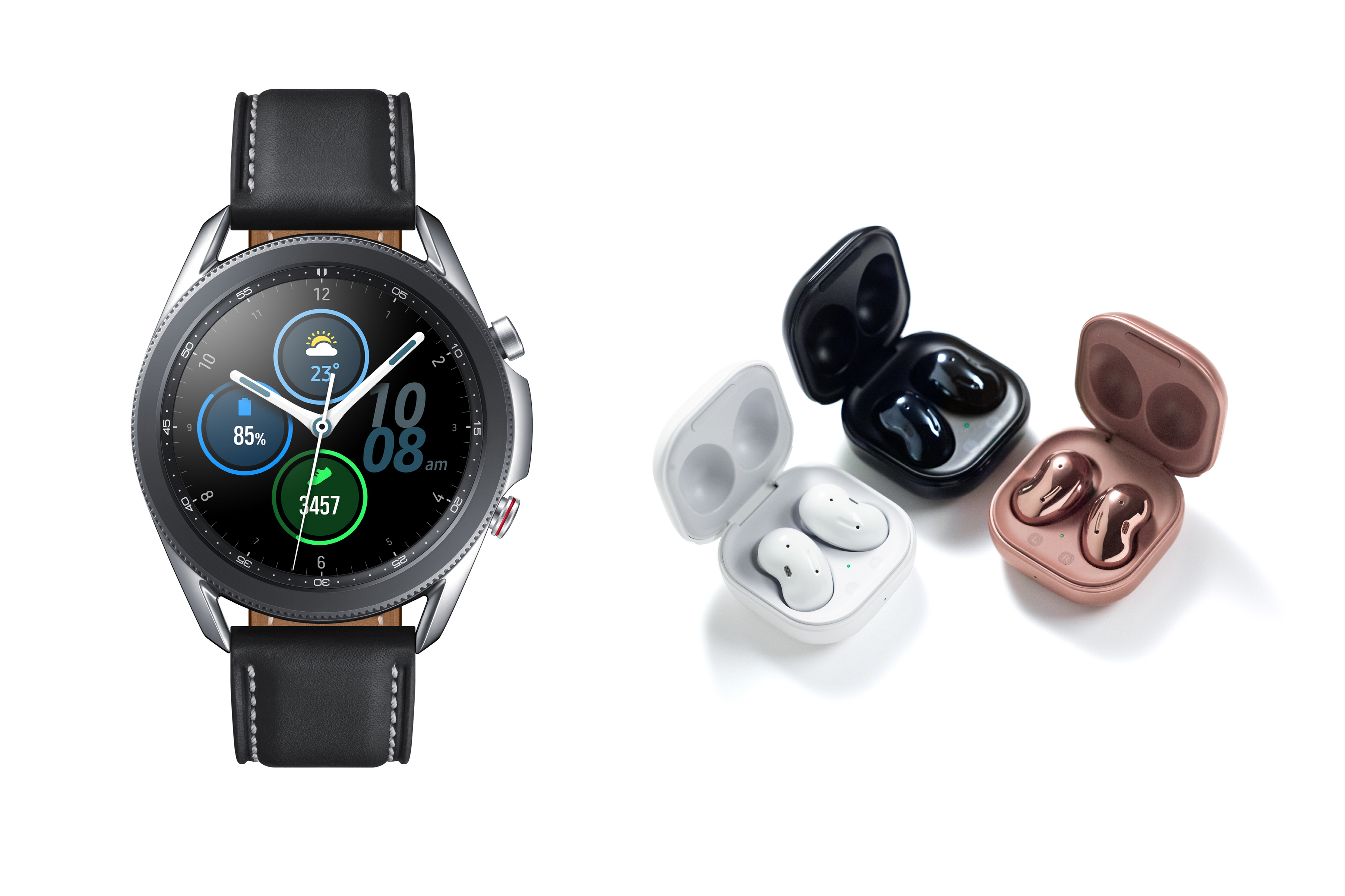Galaxy Buds Live - Galaxy Watch3 - UNPACKED 2020