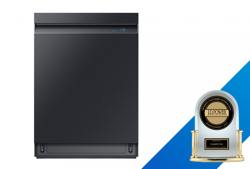 Samsung Receives More J.D. Power Awards for Kitchen and Laundry Appliances Than Any Other Manufacturer in 2020