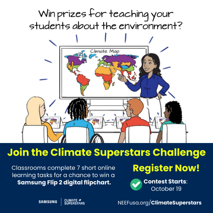 NEEF Climate Superstars