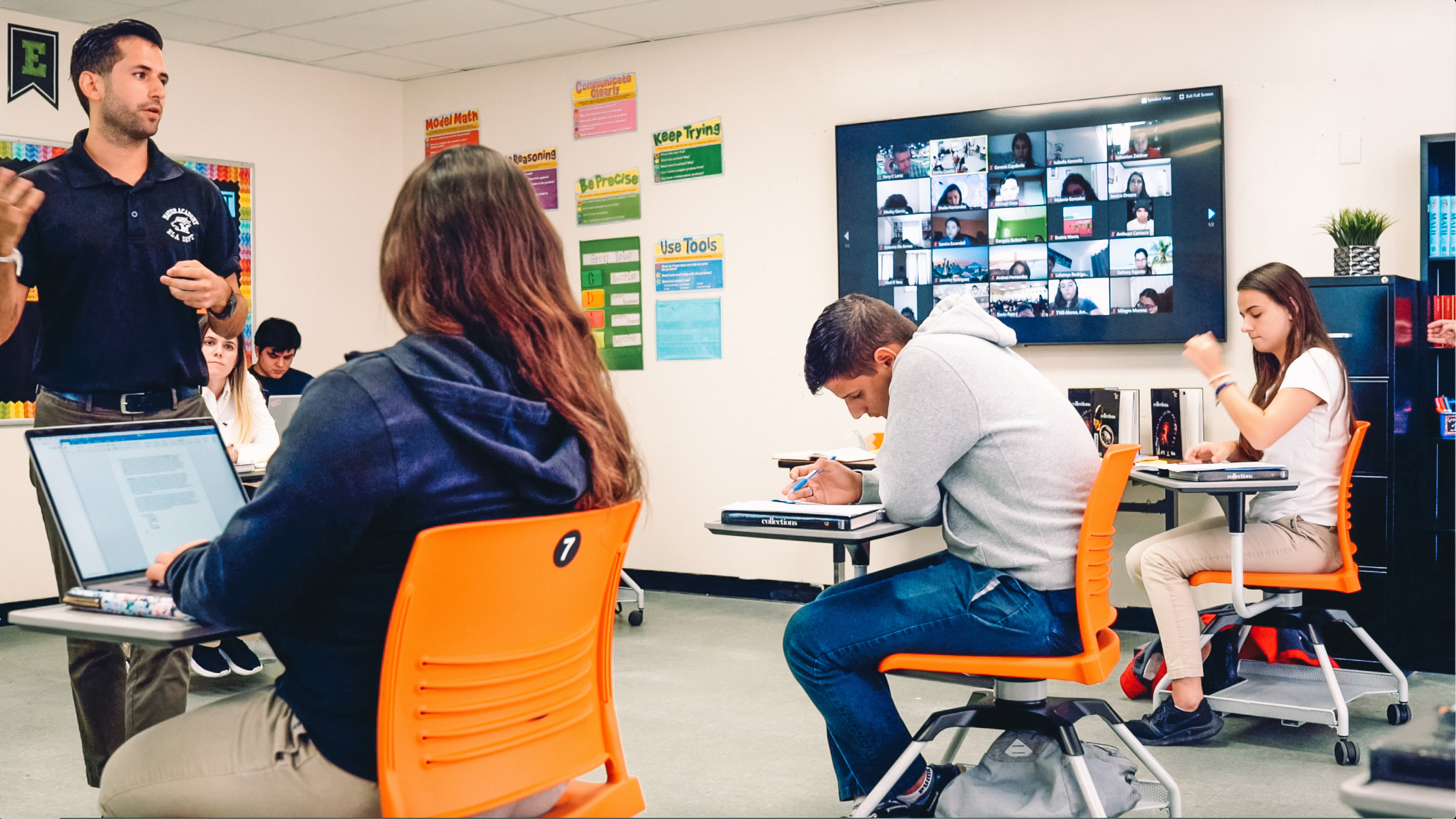 Samsung's Display Solutions Help Reimagine the Classroom for the U.S.'s Largest Charter School Network, Academica