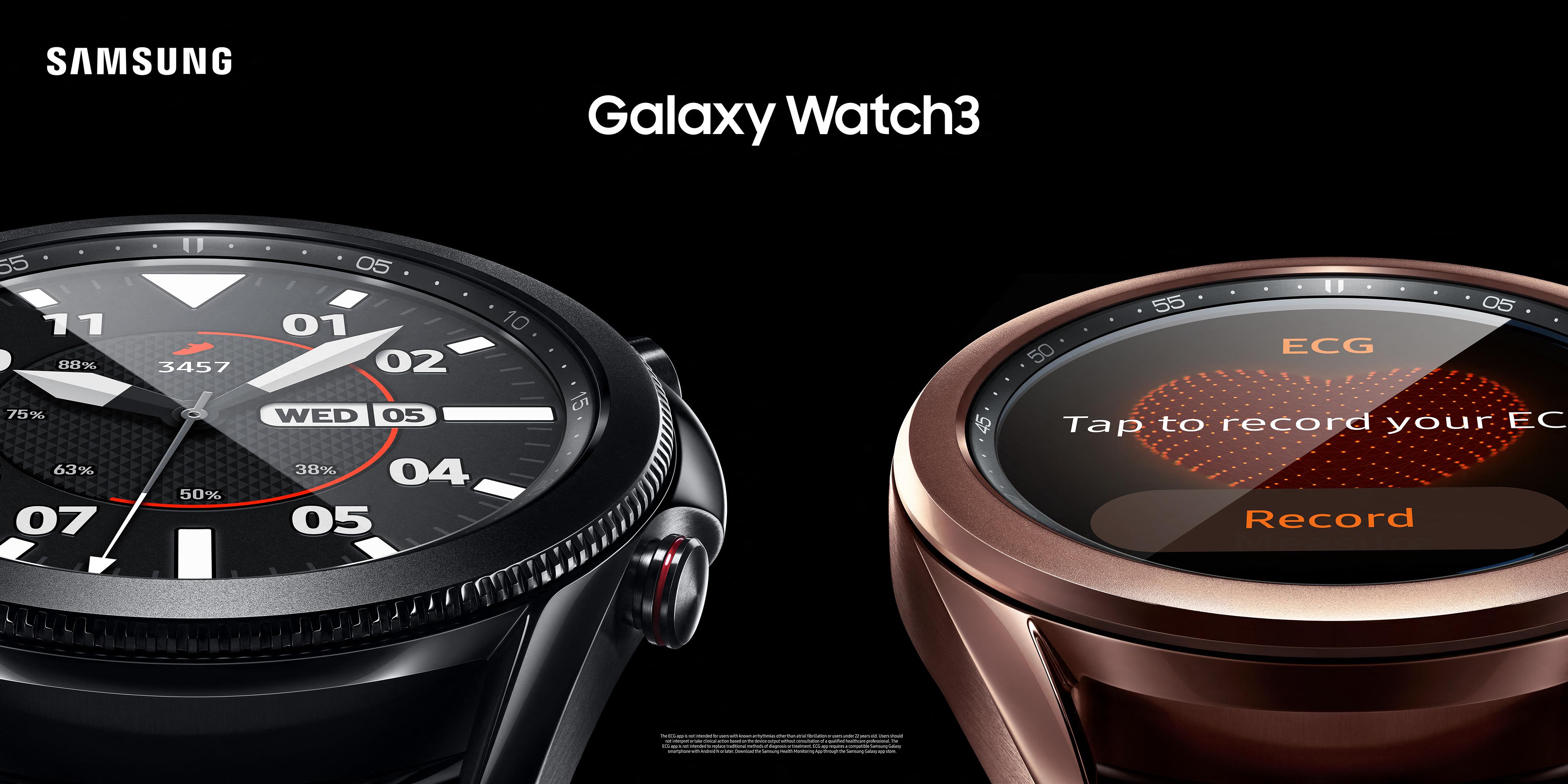 Galaxy Watch3 - Active2 - ECG App