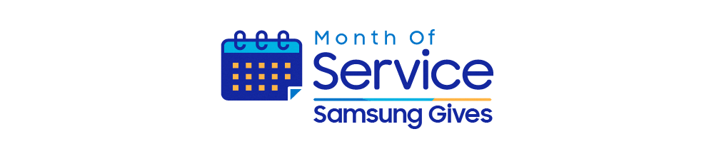 Month of Service Logo