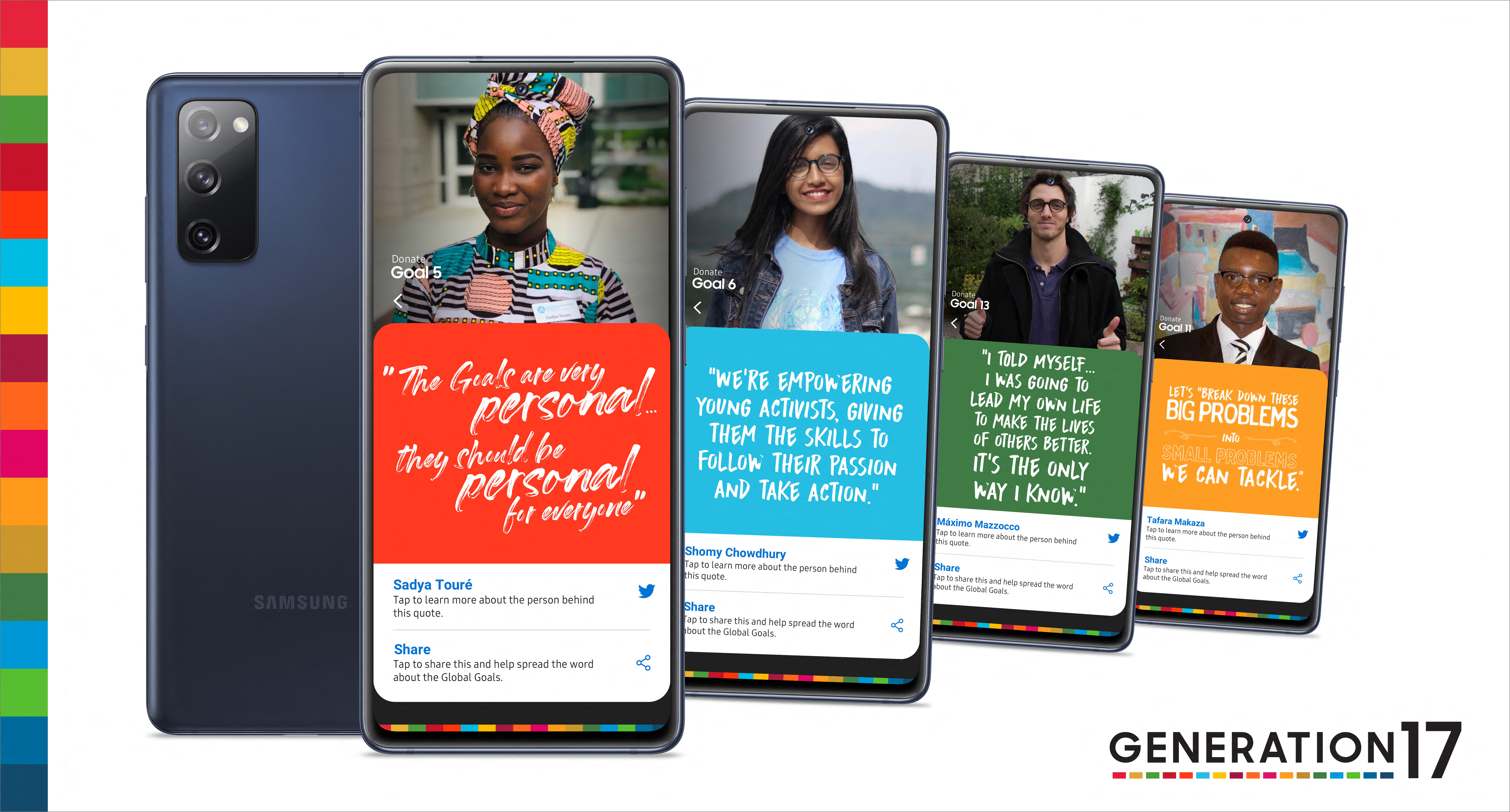 Samsung and the United Nations Development Programme Partner With Youth Accelerate Progress for the Global Goals