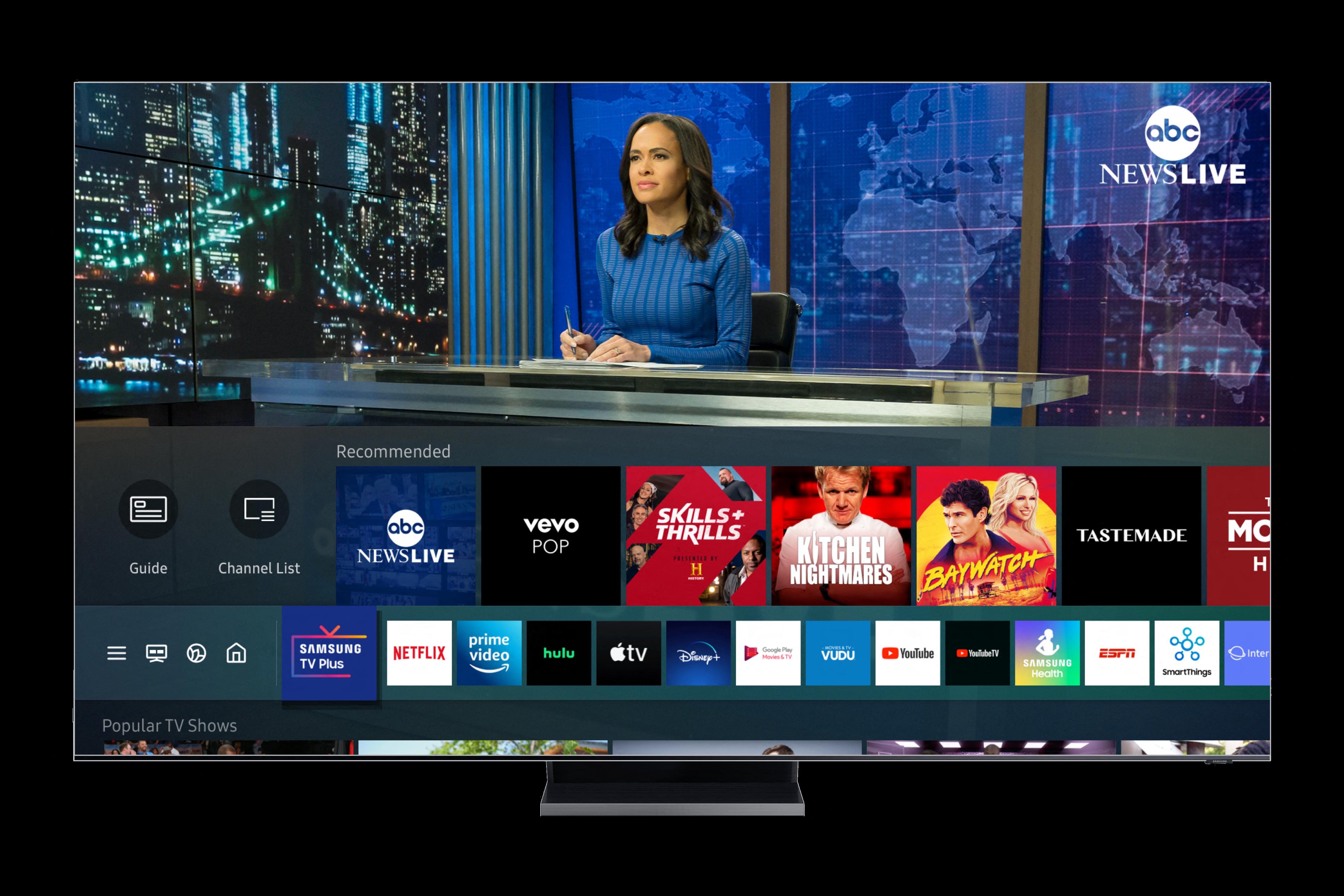 TV Plus UI Image