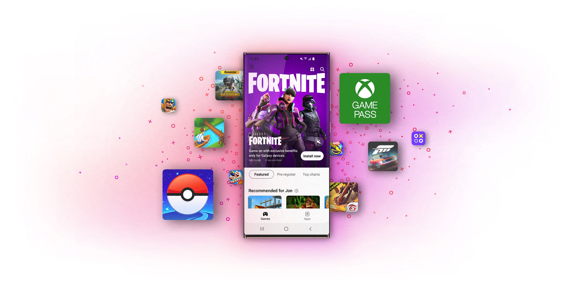 Galaxy Store Goes All-in for Gaming - Fortnite
