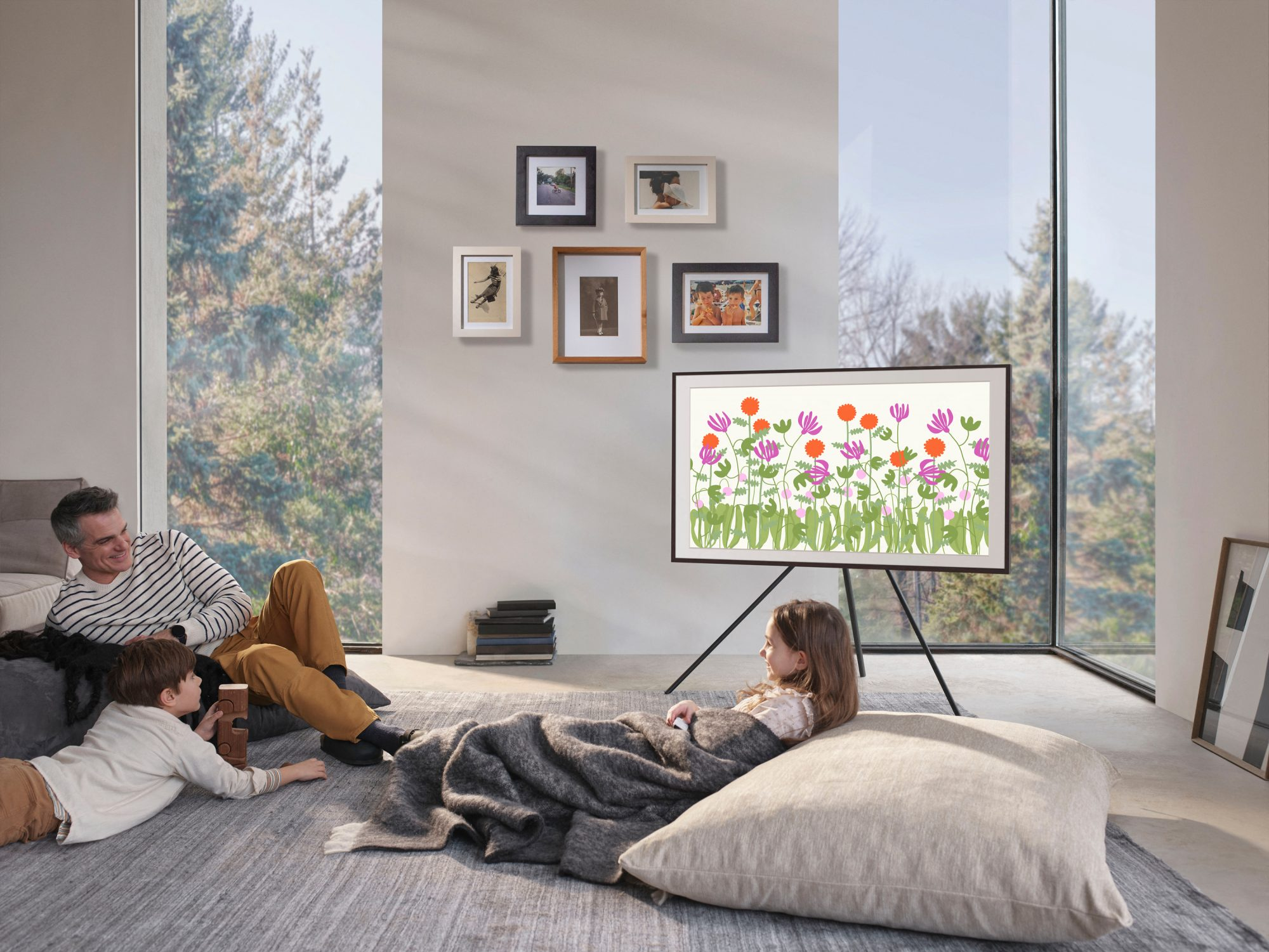 Samsung's New Partnership with Etsy Brings Colorful and Inspiring Artwork to The Frame TV